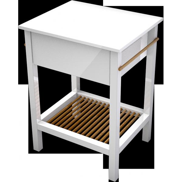 stolíkVillago600,jedno-zásuvka